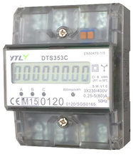EMAT dinrail 3-fase KWH meter digitaal 80A (MID)